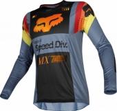 Maillot Cross FOX 360 Murc Bleu Steel 2019 maillots pantalons