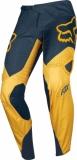 Pantalon Cross FOX 360 Kila Navy Jaune 2019 maillots pantalons
