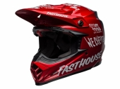 Casque CROSS BELL Moto-9 Flex Fasthouse DID 19 Matte/Gloss rouge/Navy casques