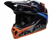 Casque BELL MX-9 MIPS Seven Ignite Gloss Navy/Coral casques