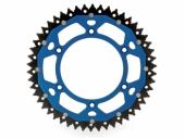 Couronne ART ACIER/ ALU BLEU ultra-light anti-boue YAMAHA 450 YZ -F 2016-2019 pignon couronne