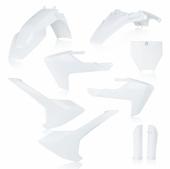 KIT PLASTIQUE FULL ACERBIS BLANC  HUSQVARNA 65 TC 2017-2019 kit plastiques acerbis