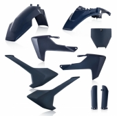 KIT PLASTIQUE FULL ACERBIS BLEU  HUSQVARNA 65 TC 2017-2019 kit plastiques acerbis