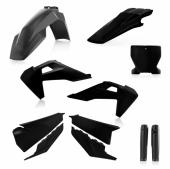 KIT PLASTIQUE FULL ACERBIS NOIR HUSQVARNA TC/FC 2019 kit plastiques acerbis