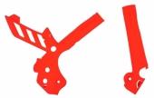 Protection de cadre POLISPORT ORANGE KTM EX-C/EXC-F 2012-2016 proteges cadre