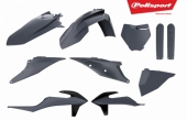 Kit plastiques POLISPORT gris nardo KTM 250 SX 2019 plastique polisport