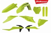 Kit plastiques POLISPORT jaune fluo KTM 350 SX-F 2019 plastique polisport