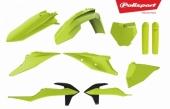 Kit plastiques POLISPORT jaune fluo KTM 450 SX-F 2019 plastique polisport