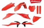 Kit plastiques POLISPORT orange fluo KTM 125 SX 2019 plastique polisport