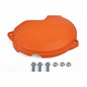 Protection de carter d'embrayage POLISPORT orange KTM 250/350 SX-F 2016-2020 protection carter embrayage