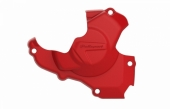 Protection de carter d'allumage POLISPORT rouge Honda 250 CR-F 2018-2019 protection carter allumage