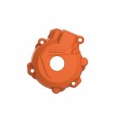 Protection de carter d'allumage POLISPORT ORANGE KTM 250/300 EX-C TPI 2017-2019 protection carter allumage