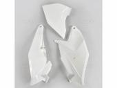 Plaques latérales + cache boîte à air UFO blanc KTM 85 SX 2018-209 plastiques ufo
