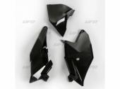 Plaques latérales + cache boîte à air UFO noir KTM 85 SX 2018-2019 plastiques ufo