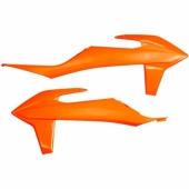ouies de radiateurs UFO KTM 350 SX-F 2019 plastiques ufo