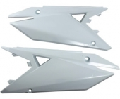 plaques numero laterales UFO  SUZUKI 250 RM-Z 2019 plastiques ufo