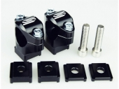 Pontets de guidon SCAR Ø28.6mm +35 à 50mm SHERCO 125 SE-R 2018-2019 pontets