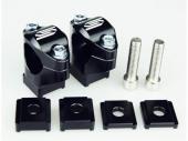 Pontets de guidon SCAR Ø28.6mm +35 à 50mm KTM 125 EX-C 2012-2016 pontets