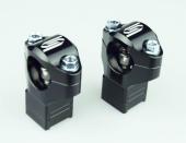 Pontets de guidon SCAR Ø28.6mm +35 à 50mm KTM 250/350/450/500 EXC-F 2012-2019 pontets