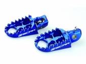 Repose-pieds SCAR Evo bleu KTM 85 SX 2018-2019 reposes pieds