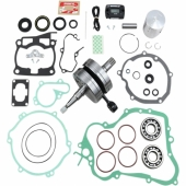 Kit Vilebrequin COMPLET WISECO YAMAHA 125 YZ 2003-2004 bielle embiellage