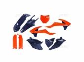 Kit plastiques UFO Edition Limitée orange/bleu KTM 85 SX 2018-2019 kit plastiques ufo