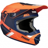 CASQUE CROSS THOR KID SECTOR  ORANGE/BLEU 2021 casque kids