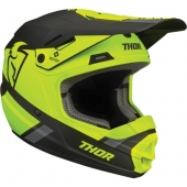 CASQUE CROSS THOR KID SECTOR GRIS/JAUNE FLUO/NOIR MAT 2021 casque kids
