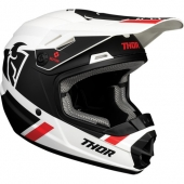 CASQUE CROSS THOR YOUTH SECTOR BOMBER CHARCOAL/BLANC 2020 casque kids
