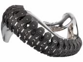 Protection d'echappement CROSS ET ENDURO 2 TEMPS POLISPORT Armadillo noir accesoires echappements