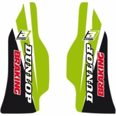 Kit déco protection de fourche Blackbird Kawasaki 250 KX-F 2004-2019 Kit déco protection de fourche