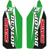 Kit déco protection de fourche Blackbird Kawasaki 450 KX-F 2006-2018 Kit déco protection de fourche