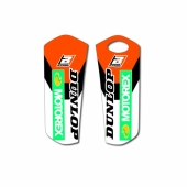 Kit déco protection de fourche Blackbird KTM SX/SX-F 2015-2019 Kit déco protection de fourche