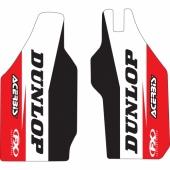 Kit déco protection de fourche FX FACTORY HONDA 250/450 CR-F 2004-2018 Kit déco protection de fourche