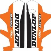 Kit déco protection de fourche FX FACTORY KTM SX/SX-F 2015-2020 Kit déco protection de fourche