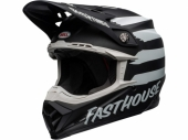 Casque BELL Moto-9 Mips Fasthouse Signia NOIR MATTE/CHROME casques