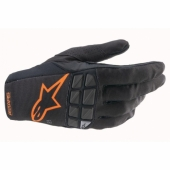 Gants Cross ALPINESTARS RACEFEND NOIR/ORANGE 2021 gants