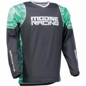 MAILLOT CROSS MOOSE RACING M1 AGROID BLANC 2020 maillots pantalons
