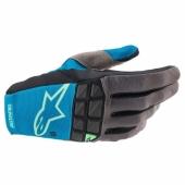 Gants Cross ALPINESTARS RACEFEND BLEU/GRIS 2021 gants