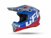 Casque CROSS UFO Intrepid  GRIS/ROUGE casques