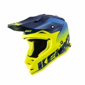 CASQUE KENNY TRACK KID  NAVY/JAUNE FLUO 2021 casque kids
