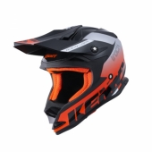 CASQUE TRACK KID FOCUS ORANGE/CYAN casque kids