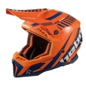 CASQUE HEBO MX STRATOS FIBRE ORANGE casques