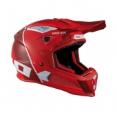 CASQUE HEBO  HMX-P01 RIPPLE ROUGE MAT casques