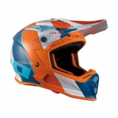 CASQUE HEBO HMX-P01 RIPPLE ORANGE/BLEU casques