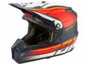 Casque ANSWER AR5 Korza MIDNIGHT/ROUGE/BLANC casques