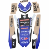 KIT DECO FACTORY EFFEX TRIM YAMAHA 125/250 YZ 2015-2020 kit deco effex