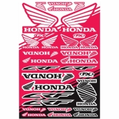 KIT AUTOCOLLANTS UNIVERSEL EFFEX HONDA CR-F planche auto collants