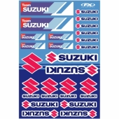 KIT AUTOCOLLANTS UNIVERSEL EFFEX SUZUKI RACING planche auto collants