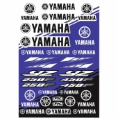KIT AUTOCOLLANTS UNIVERSEL EFFEX  YAMAHA planche auto collants